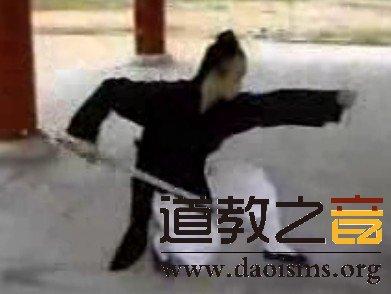 武当七星剑-武当道教陈师行道长演练