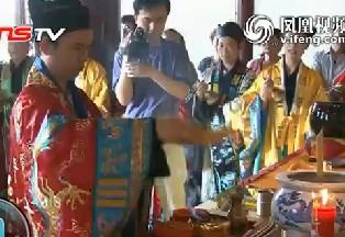 武汉长春观等七省宫观接力 中国道教举办盛大法会祈福