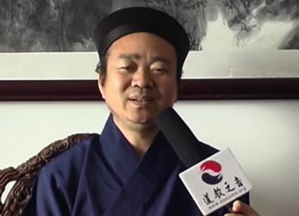 玄门之音专访:中国道协副会长、京道协会长黄信阳道长(视频)