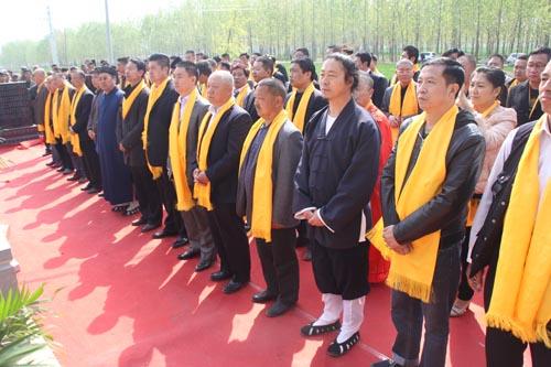 石永标道长碑亭竖立仪式在江苏丰县举行