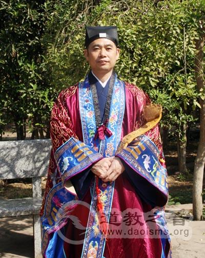 张继禹在全国青联会议上讲话