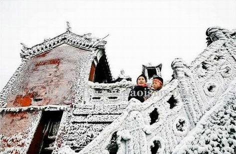 冬游武当太极湖