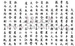 孟天宇书道德经31-51章