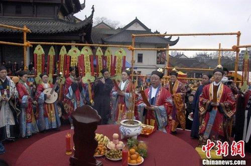 中国道教罗天大醮祈福会在武汉长春观举行