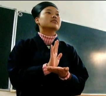 孟誠亮老师教授道教手印