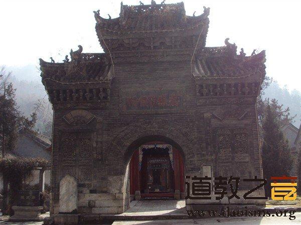 张良庙大山门
