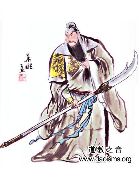 关圣帝君法相(图库)