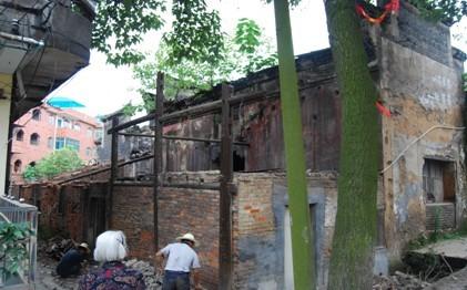 醴陵天符殿修缮工程开工