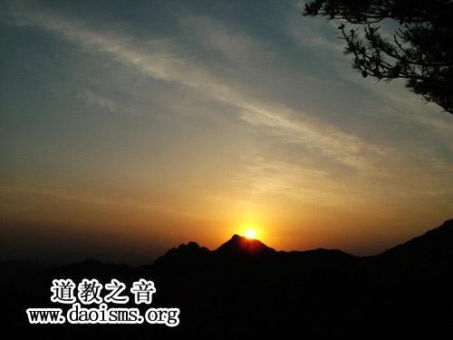 昆嵛山日落