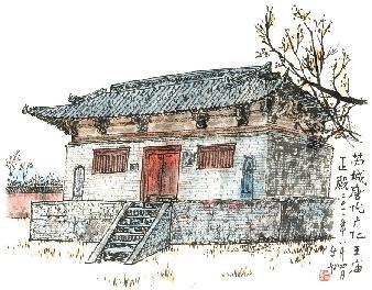 山西古代建筑精华之三:寂寞青龙