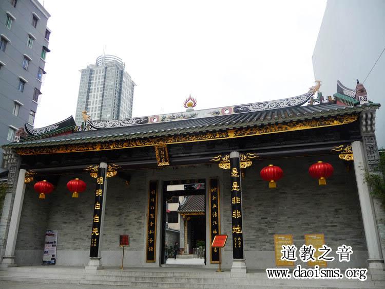 广州都城隍庙(图库)