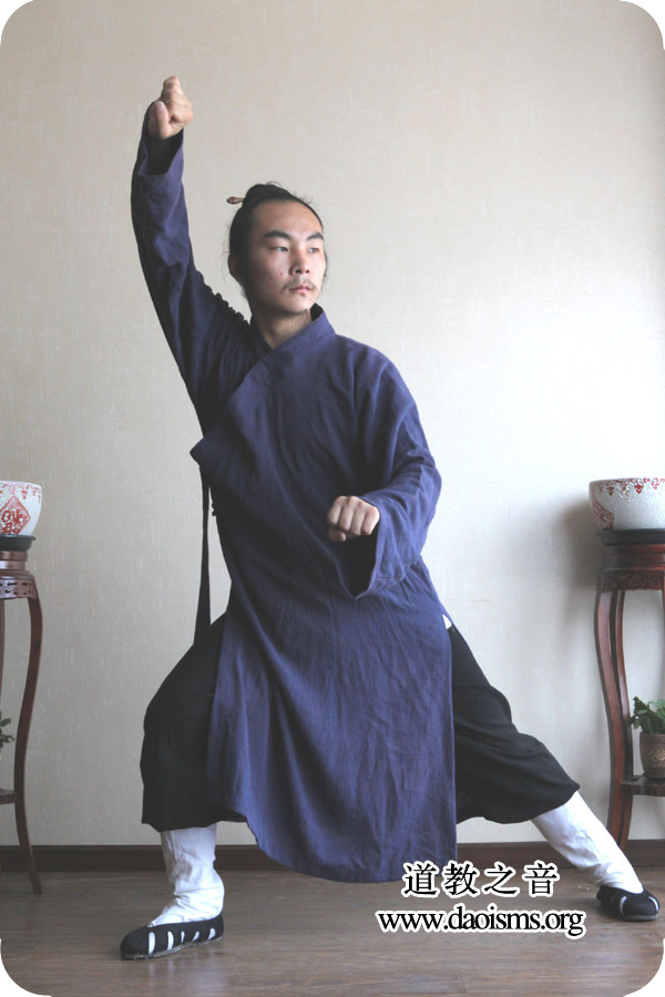 武当三丰太极拳28式第十二式  右打虎式 详解版