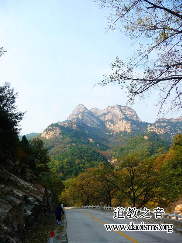 东岳泰山一角
