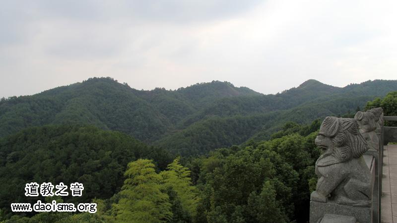 赤松黄大仙宫远眺