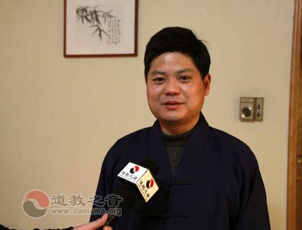 第十二届全国政协委员、中国道教协会咨议委员会副主席丁常云道长