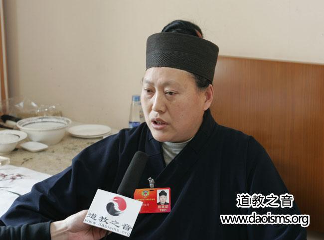 <b>专访:中道协副会长、四川省道教协会会长唐诚青道长</b>