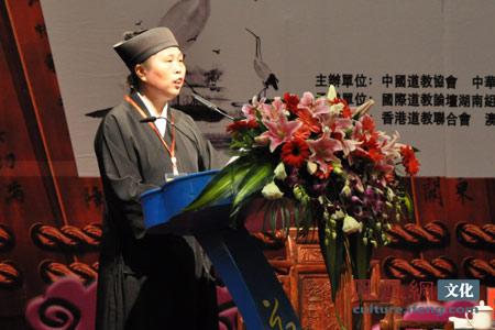 第十二届全国政协委员、中道协副会长黄至安道长