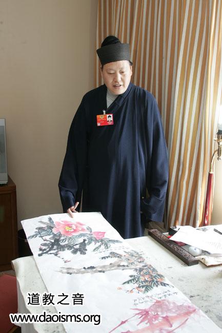 中国道教协会副会长唐诚青