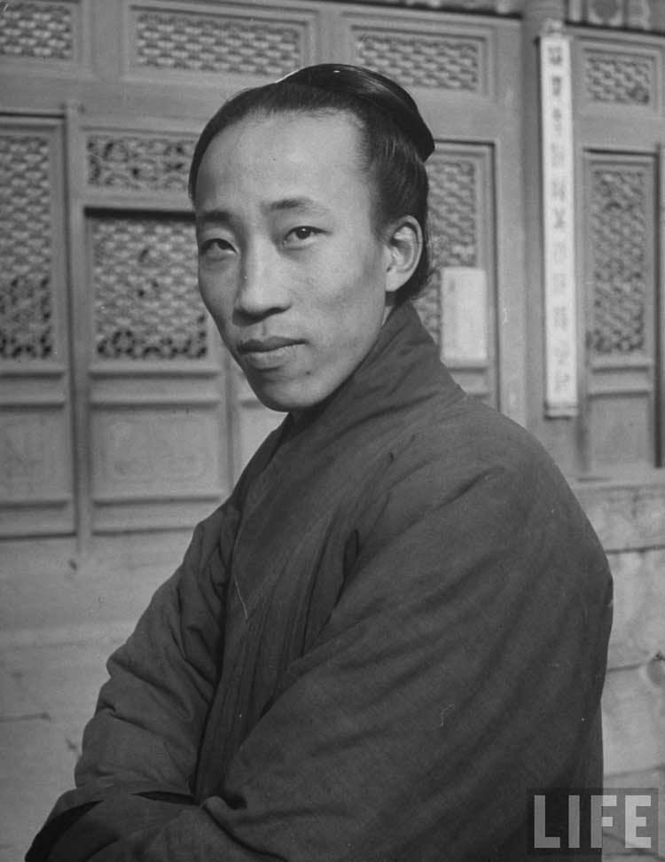 1946年北京道士图片