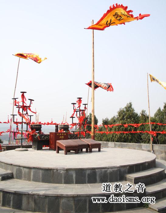 武汉大道观刘备郊天坛