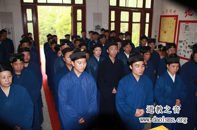 2012届武汉高功学习班举行拜先生仪式