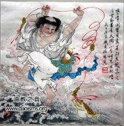 刘海戏金蟾的传说