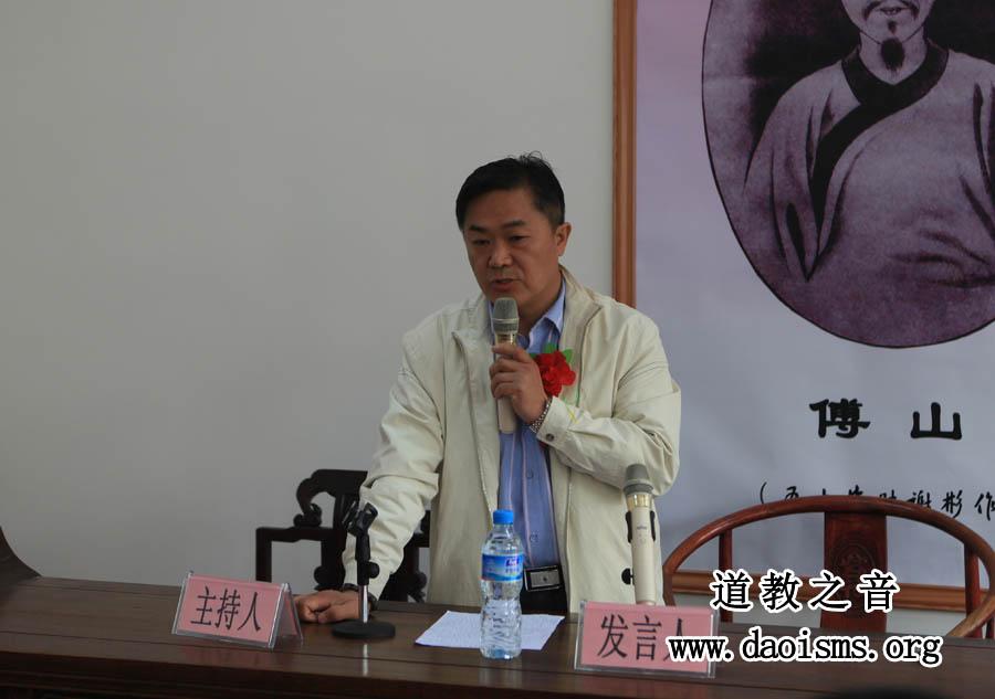 山西省药膳养生学会常务副会长刘世斌发言