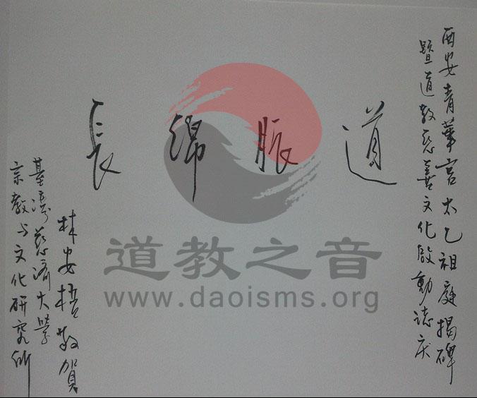 台湾著名学者林安梧教授题字