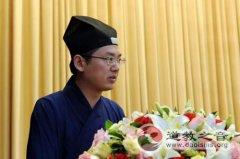中国道教协会副会长吉宏忠道长