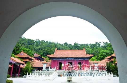 紫云观建筑群气势宏伟,是广东少有的具全真道风范的道观。南都记者 陈奕启 摄