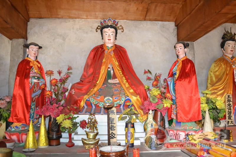 三贤山道观无圣老母神像