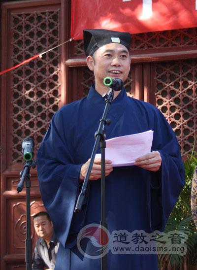 """中国道教协会在北京白云观启动""""宗教慈善周"""""""