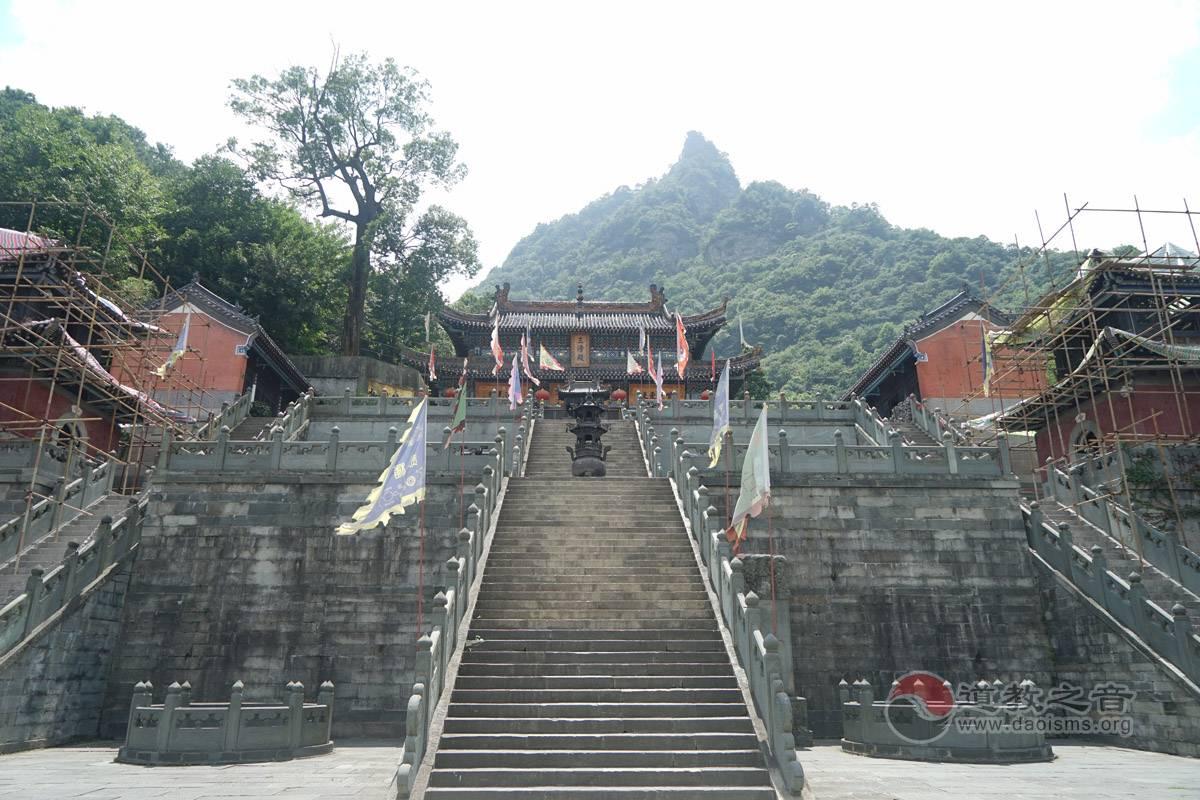 琼台中观三清殿