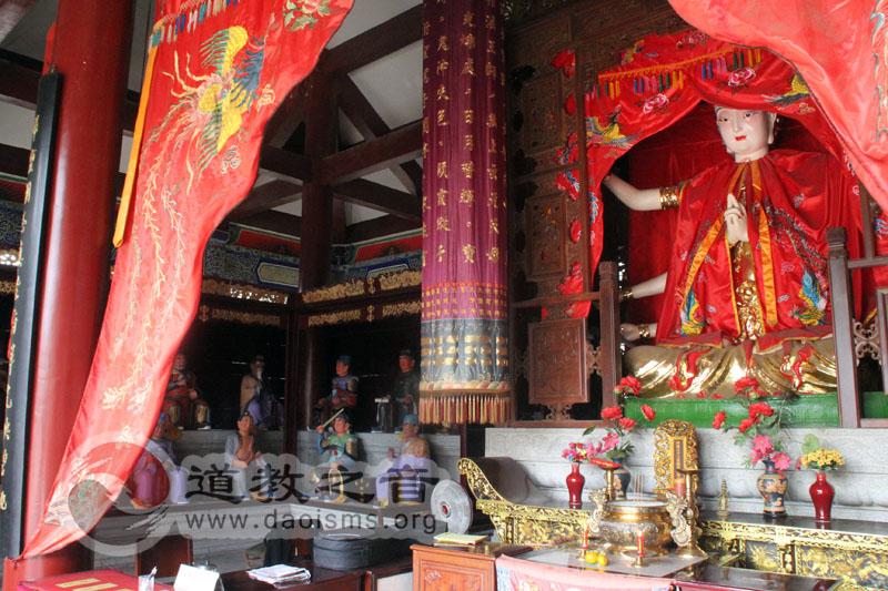 南昌万寿宫斗母殿,供奉斗姆元君和六十甲子