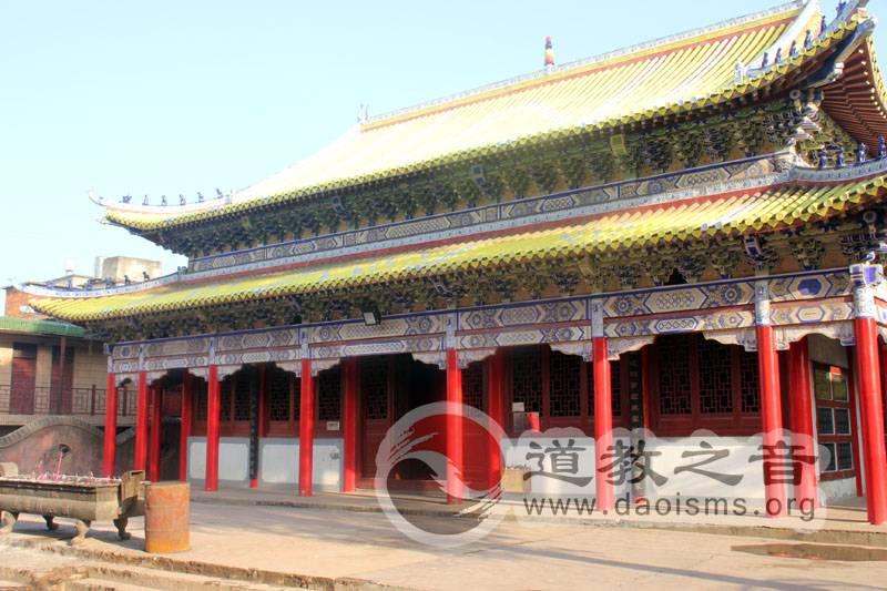西山万寿宫玉皇殿,供奉玉皇大帝和四大天师