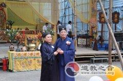 中国道教协会副会长、成都市道教协会会长张明心道长