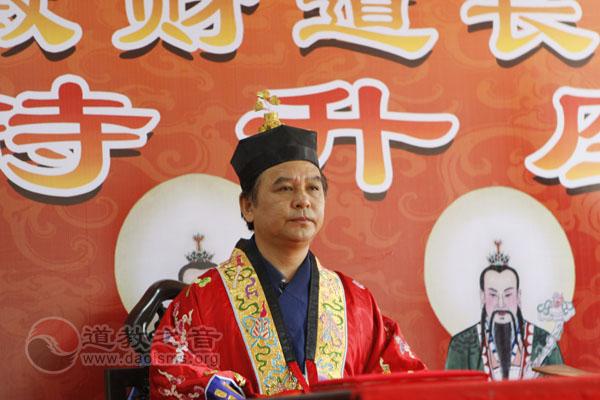 江苏省道教协会副会长孙敏财道长