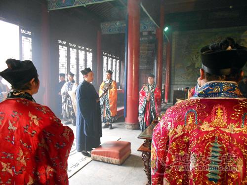 西安八仙宫举办2013癸巳新年庙会