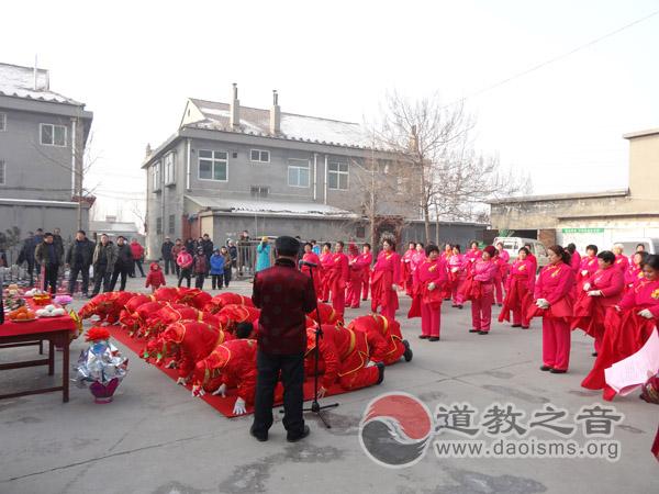 李诡祖故里举办庆新春财神爷巡游淄川城活动