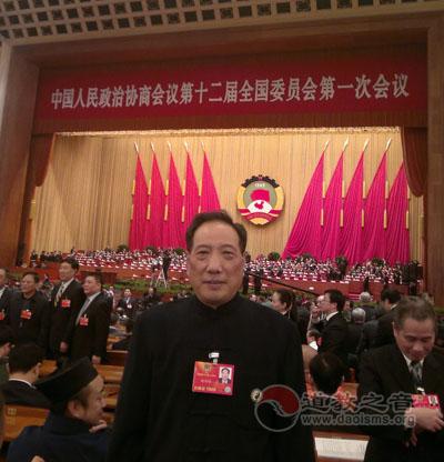 福建省道教协会会长谢荣增道长