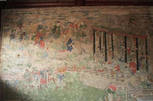 鸡鸣驿财神庙与荷盒二仙的传说