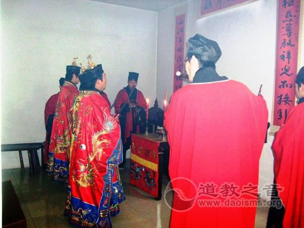 润州道院为4·20四川雅安地震遇难同胞举行超度祈福法会