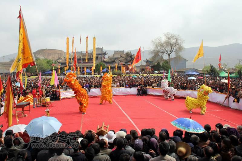 湛龙观民间传统文化艺术汇演