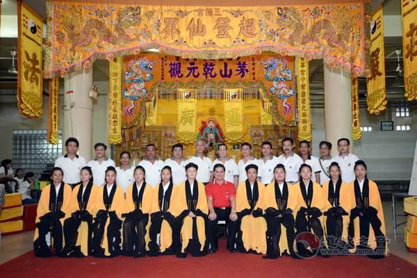 乾元观坤道经乐团第十四次圆满出访新加坡