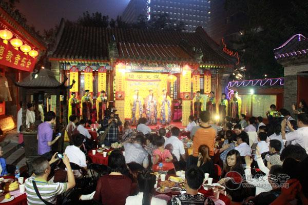 北京道协中秋拜月祈福音乐会
