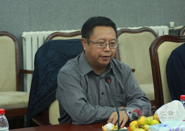 国际部副主任、新闻发言人尹志华