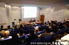 任法融会长在伦敦大学亚非学院演讲