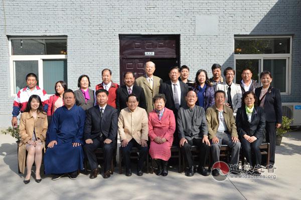 台湾道教联合会首次来晋参访