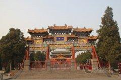 嵩山中岳庙(图库赏析)