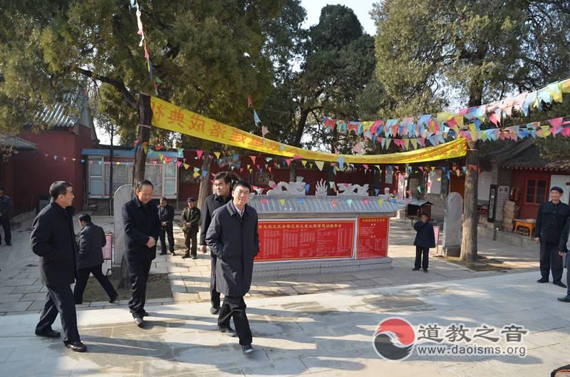 创建和谐宗教场所,甘肃省宗教局局长肖庆春赴甘谷调研